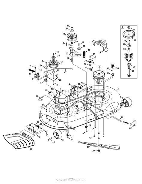 sears lawn tractor parts diagram mtd 13al78xt099 247 203744 t1600 2015 parts diagram