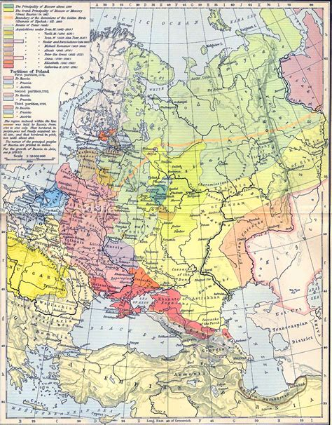 russia and eastern europe map 1300 byzantine battle standard russian history