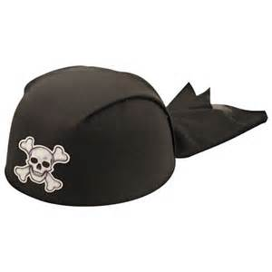 Home fancy dress hats child s black pirate hat
