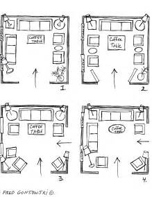 it s easy to arrange furniture in a square living room