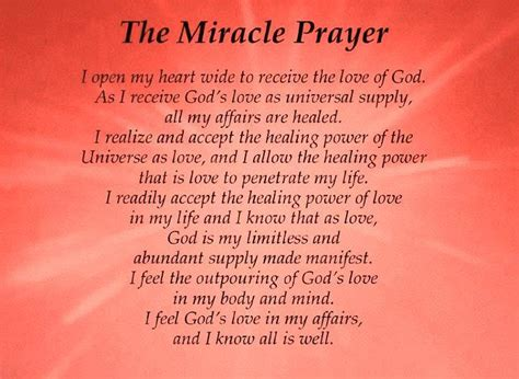 The Miracle Of Free Prayer Quotes