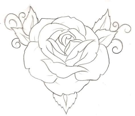 minimalist rose tattoo design best 25 rose drawing simple ideas on pinterest rose