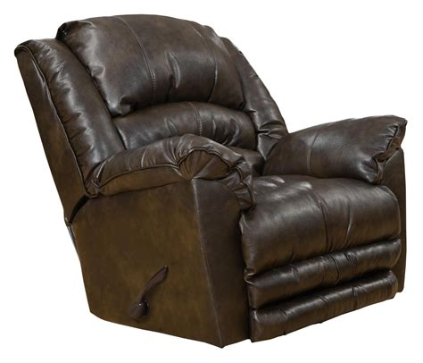 oversized leather recliner for two catnapper motion chairs and recliners filmore oversized