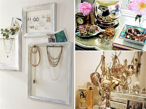 DIY Jewelry Storage Ideas   Whispering Girls