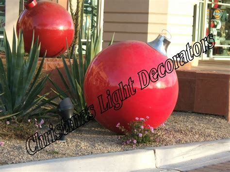 places that sell big christmas lutside balls large exterior decorations photograph diy outdoo
