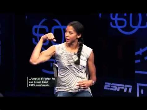 candace parker flexing biceps youtube