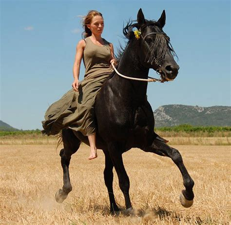 commercial girl riding horse horseback riding i can t exactly go bareback but whatever