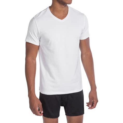 V Neck Expression Tshirt cotton t shirts mens custom shirt