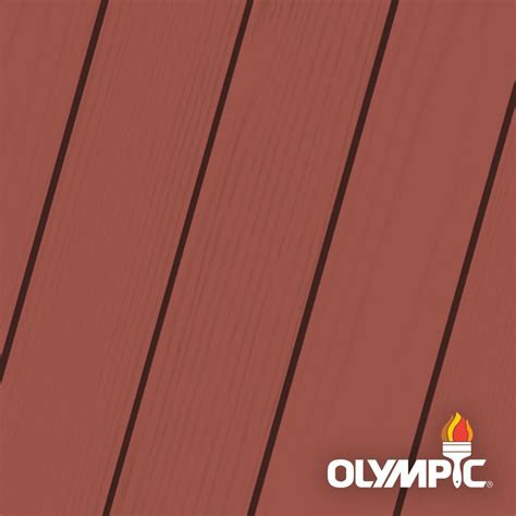 olympic maximum  gal navajo red solid color exterior