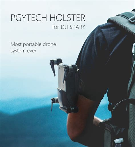 Dji Spark Storage Portable Holster Acc Portable Sleeve Pgytech pgytech carry holster portable sleeve holder straps