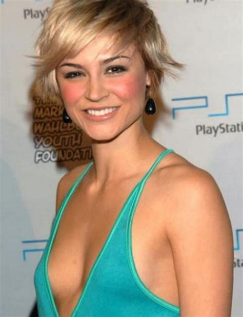 samaire armstrong short hair samaire armstrong calin armstrong body size measurements