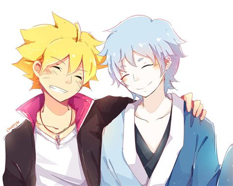 boruto x mitsuki boruto and mitsuki friendship by chappyvii on deviantart