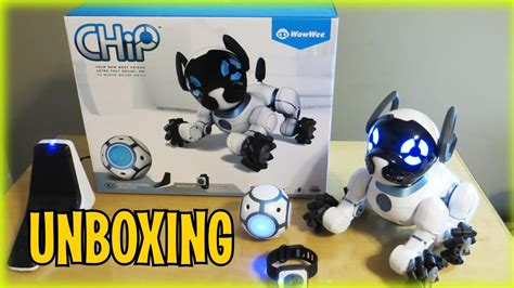 chip robot day 1 unboxing chip robot from wowwee review