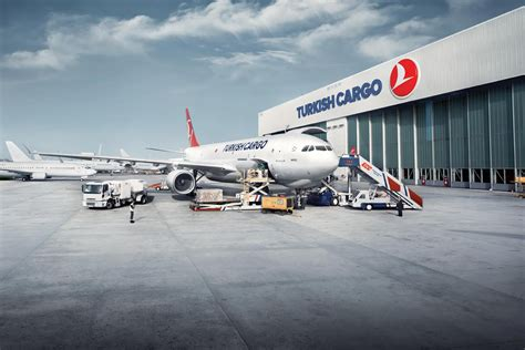 turkish cargo leading from the