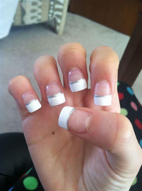 beauty 25 pattern acrylic nail tips french false nail art 25 beautiful french tip acrylics ideas on pinterest