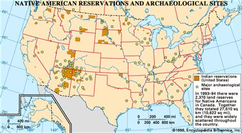 american reservations map reservation american reservations