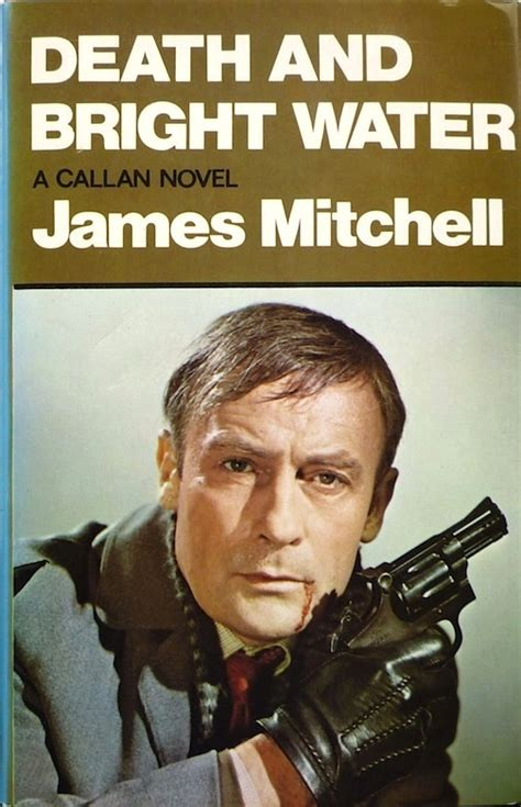 Mitchell And Bright Water existential ennui thriller book cover design of