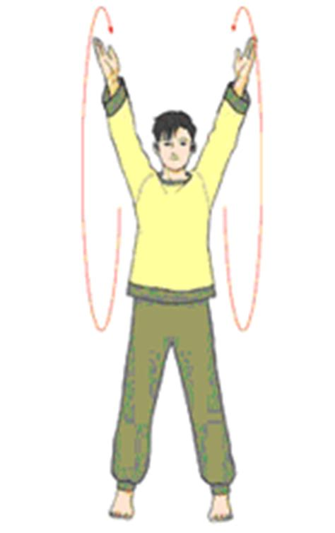 swing your arms seon exercises suseonjae the meditation school