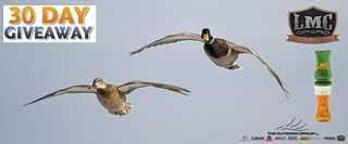 Ducks Unlimited Sweepstakes - 30 calls in 30 days giveaway