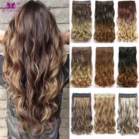 directions on dipping synthetuc hair in boiling water 12style 24inch one piece curly hair clips in ombre tone