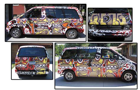 spray painting vans chongo