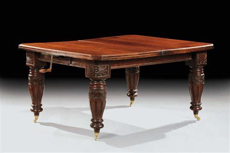 tavolo inglese tavolo inglese rettangolare in mogano xix secolo