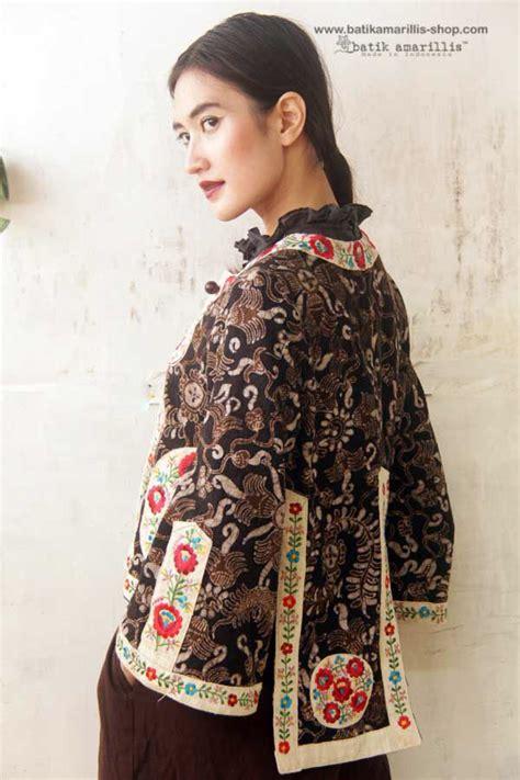 Blazer Batik Ad02 65 batik amarillis made in indonesia tenun batik gedog tuban of indonesia meets hungarian