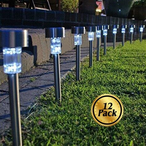 Video Review Solar Pathway Lights 12 Pack Koolife Solar Path Lights Reviews