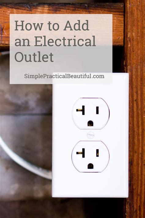 how to install a home electrical outlet efcaviation