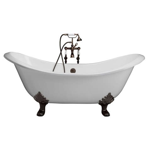 cast iron bathtub repair kit barclay products cast iron double slipper tub