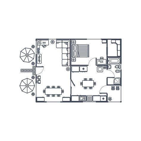 floor plan objects floor plan objects floor plan with graphic create a set of outdoor floor plan shapes