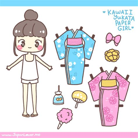 printable japanese paper dolls coloring girls and search on pinterest