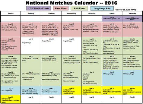 National Calendar 2016 National Matches Calendar Now Available 171 Daily Bulletin