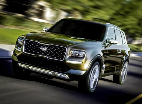 Kia Telluride For Sale by Kia Telluride Suv Concept The Wheel