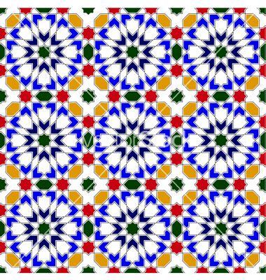 13906275 vector of islamic flower pattern on white stock vancouver island school of art workshop image page