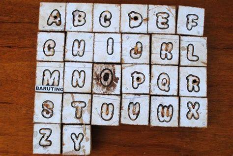 cara membuat origami huruf abjad semakin unik huruf semakin bagus tetapi butuh waktu lama