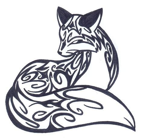 fox tattoo designs gallery celtic fox designs