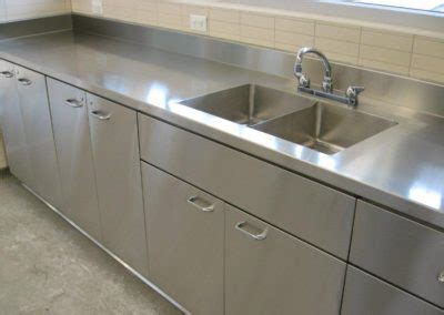 stainless steel countertop with integrated sink stainless steel sink countertop home design ideas and