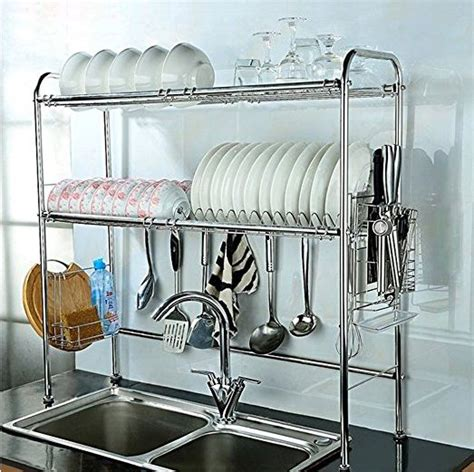 ways to declutter kitchen counters 25 best ideas about dish drying racks on pinterest diy