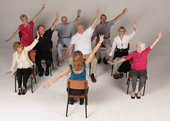 Chair Exercise For Seniors by New Chair Exercises For Weight Loss By Balloflex