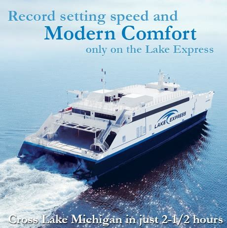 boat cruise from milwaukee to chicago 10 best highspeed ferries images on pinterest high speed
