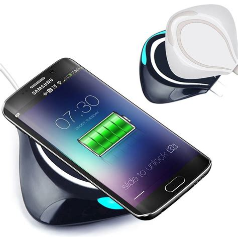 Wireless Qi Charger For Samsung S6 Hitam fast genuine qi wireless charging pad dock for samsung galaxy s6 s6 s6 edge plus ebay