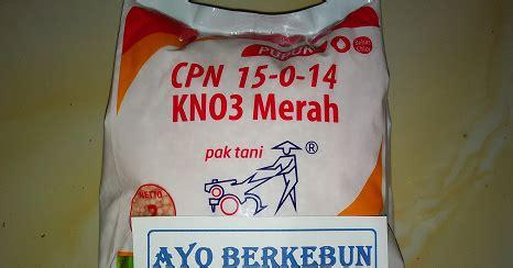 Pupuk Potassium Nitrate pupuk kno3 merah cpn 15 0 14 ayo berkebun