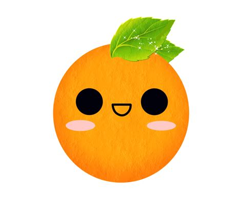 imagenes de naranjas kawaii mandarina kawaii png by nickynicole19 on deviantart