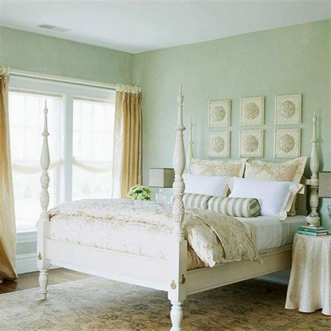 Seafoam Green Walls Bedroom by Beachy Keen This Bedroom Is As Pretty As A Seaside