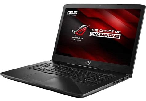 Asus Republic Of Gamers Laptop Pcgarage asus gl703vd i gl703vm notebookcheck pl