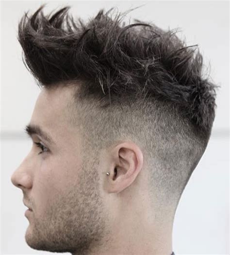 shaved back and sides haircut mens hairstyles shaved back and sides long on top hairstyles