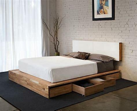 moderne wandlen das diy bett kann ihr schlafzimmer v 246 llig umwandeln