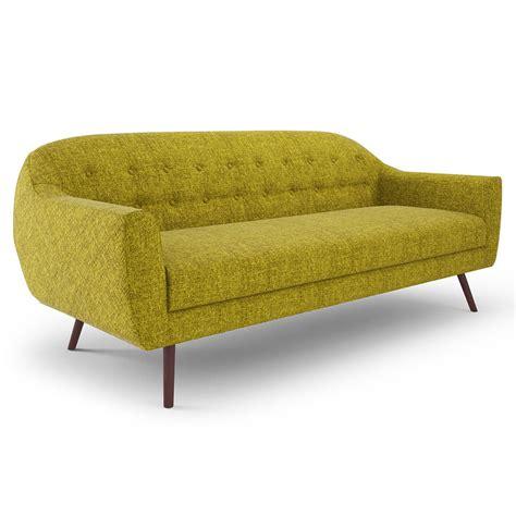 corbin sofa modern sofas corbin green fabric sofa eurway