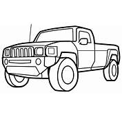 Pick Up Truck  Free Coloring Pages On Art
